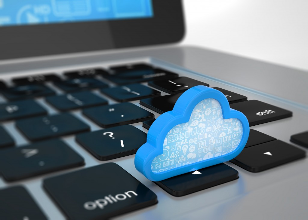 image of cloud with information stored in t