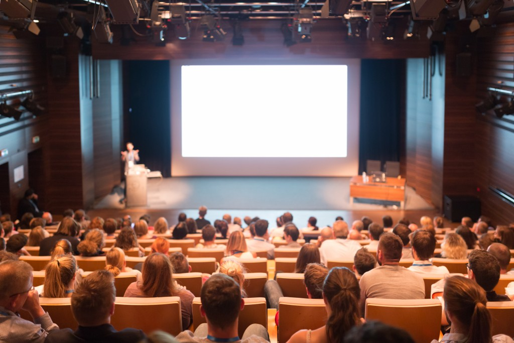 audience at a conference event