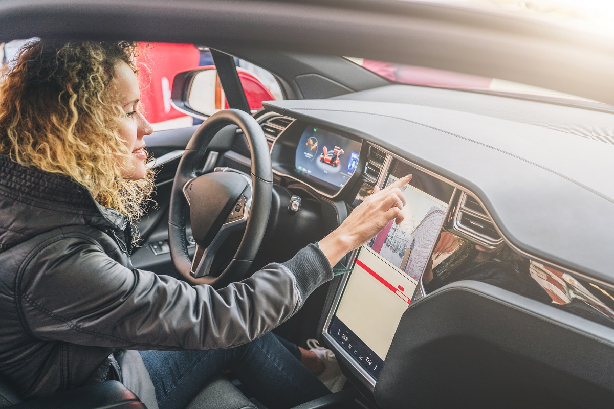 using GPS inside a car