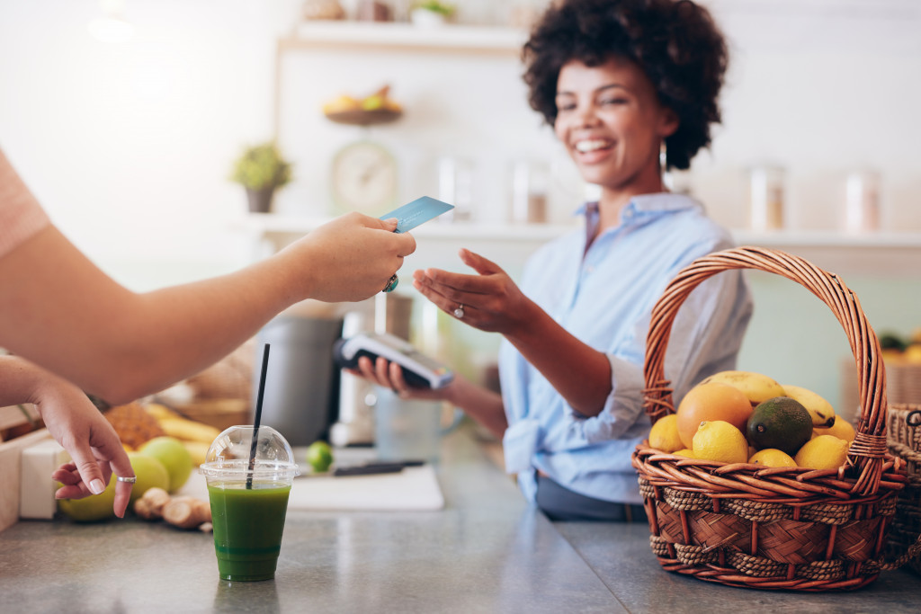 paying for juice